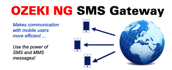 SMS Gateway to send SMS and MMS messages